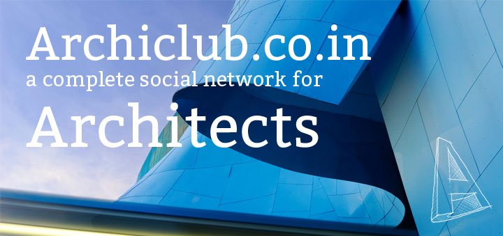 archiclub.co.in – Social Network for Architects