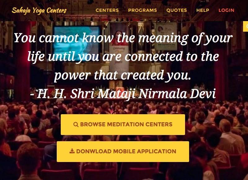 sahaja-yoga-center-finder-website
