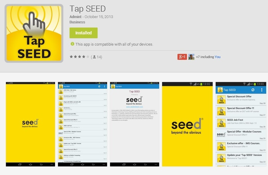 tap-seed