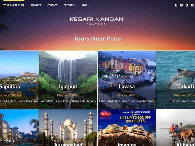 Pune Tours - Travels & Car Hire in Mumbai & Pune