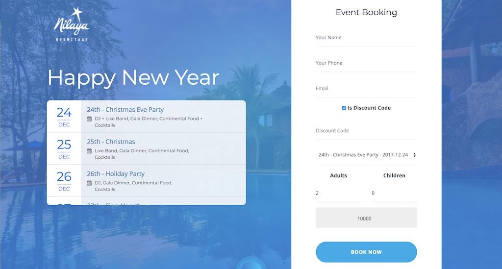 NIlaya-Event-Booking-System-Laravel-Goa