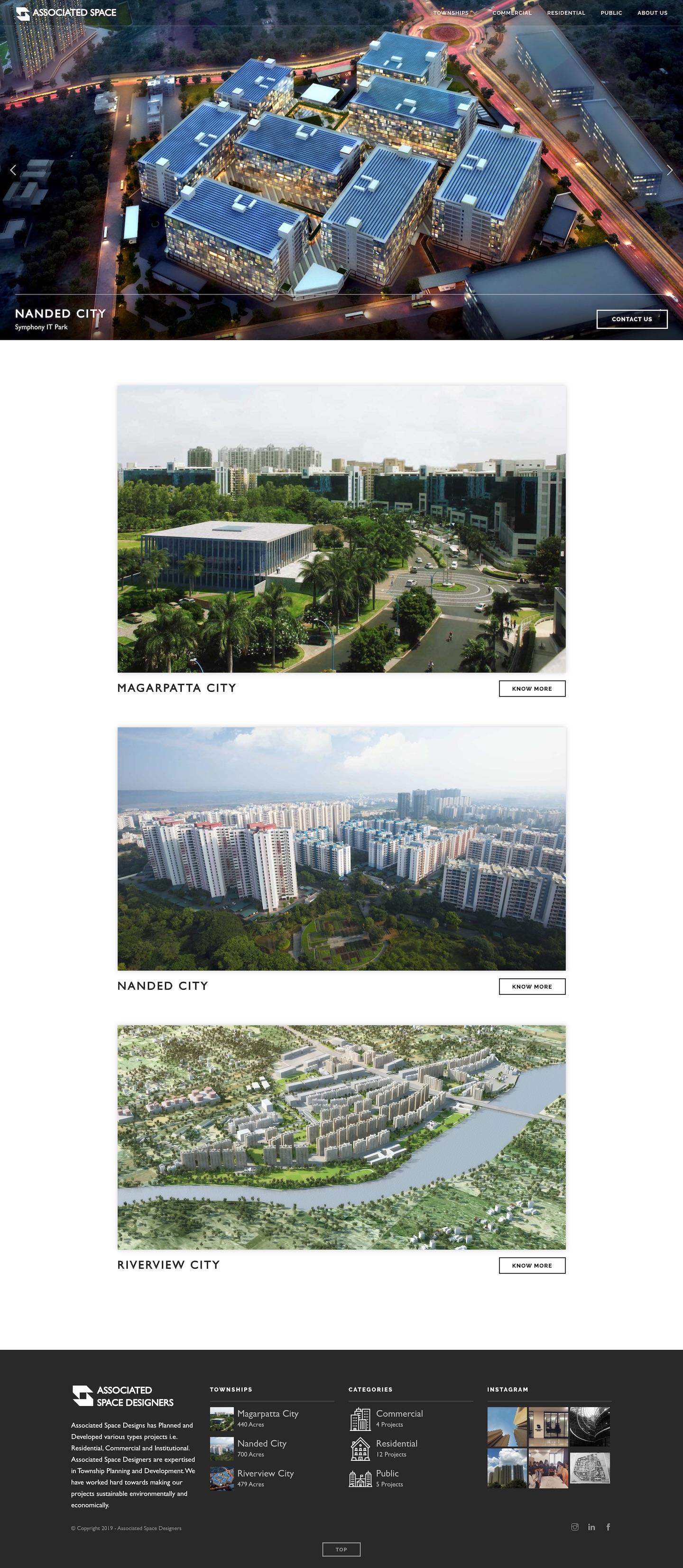 associated.space-Laravel-CMS-Website-Development-Pune-India