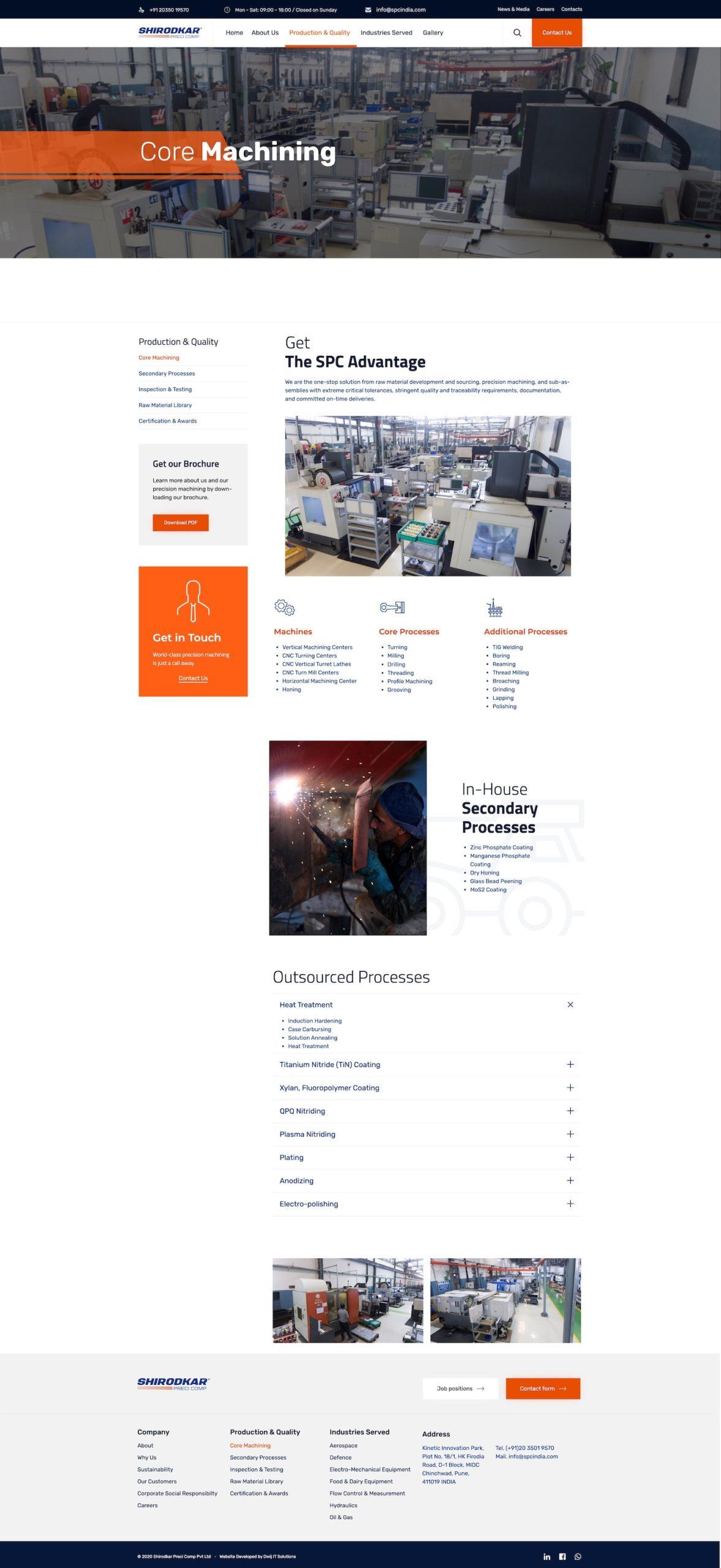 spcindia.com-manufacturing-website-development-pune-india-core-machining