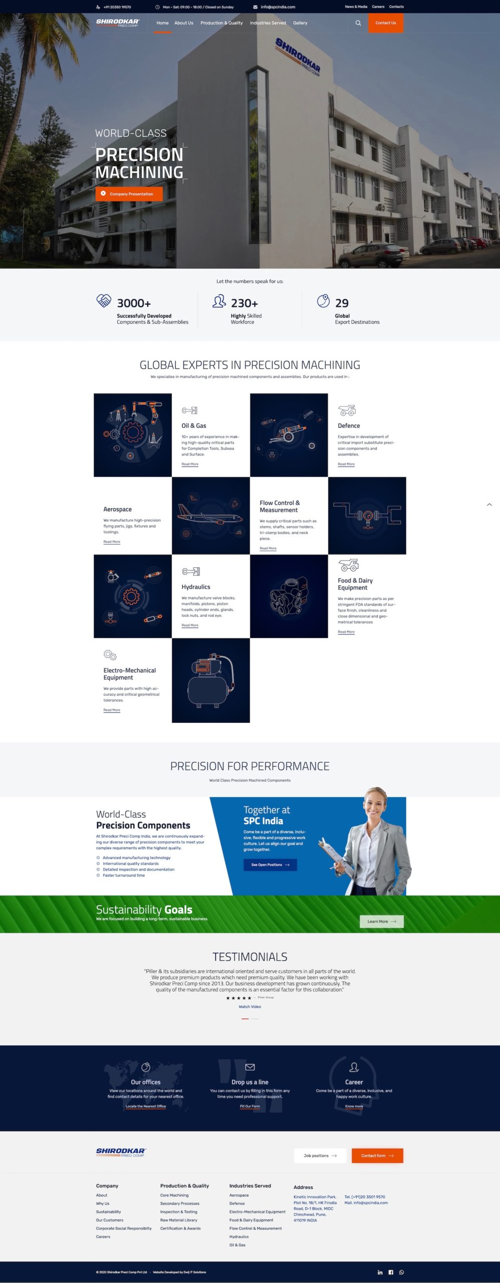 spcindia.com-manufacturing-website-development-pune-india-home